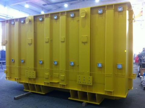 Generator housings and transformer tanks